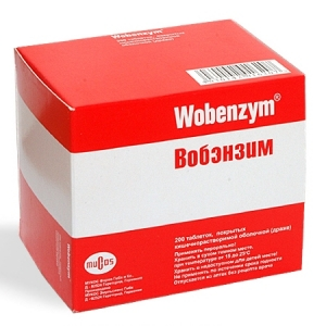 Вобэнзим цена и наличие в аптеках