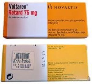 Вольтарен ретард цена и наличие в аптеках