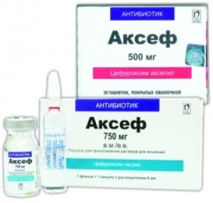 Аксеф цена и наличие в аптеках