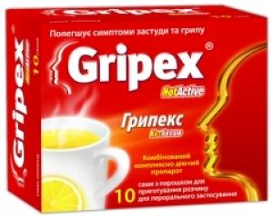 Грипекс цена и наличие в аптеках