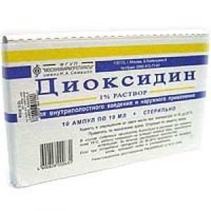 Диоксидин цена и наличие в аптеках