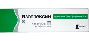 Изотрексин цена и наличие в аптеках