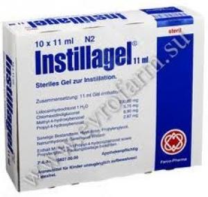 Инстиллагель цена и наличие в аптеках