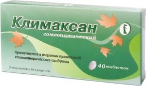 Климаксан цена и наличие в аптеках