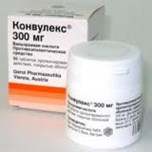 Конвулекс ретард цена и наличие в аптеках