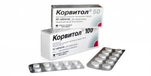 Корвитол цена и наличие в аптеках