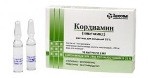 Кордиамин цена и наличие в аптеках