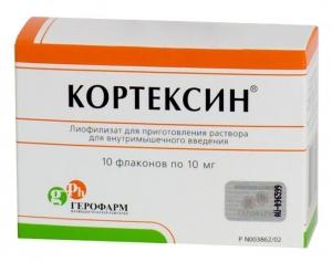 Кортексин цена и наличие в аптеках