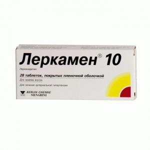 Леркамен цена и наличие в аптеках