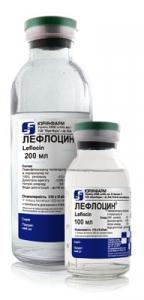 Лефлоцин цена и наличие в аптеках