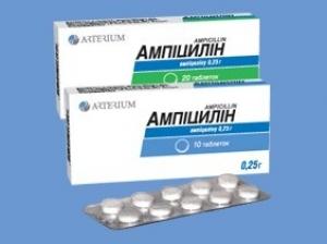 Ампициллина тригидрат цена и наличие в аптеках