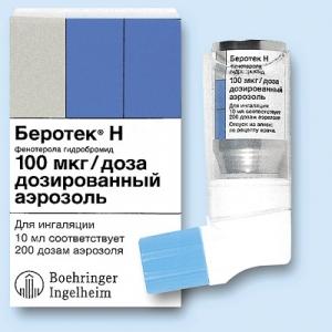 Беротек Н цена и наличие в аптеках