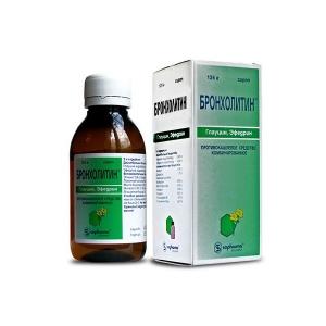 Бронхолитин цена и наличие в аптеках