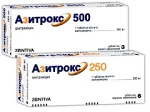 Азитрокс цена и наличие в аптеках